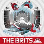 The Brits Snowboarding