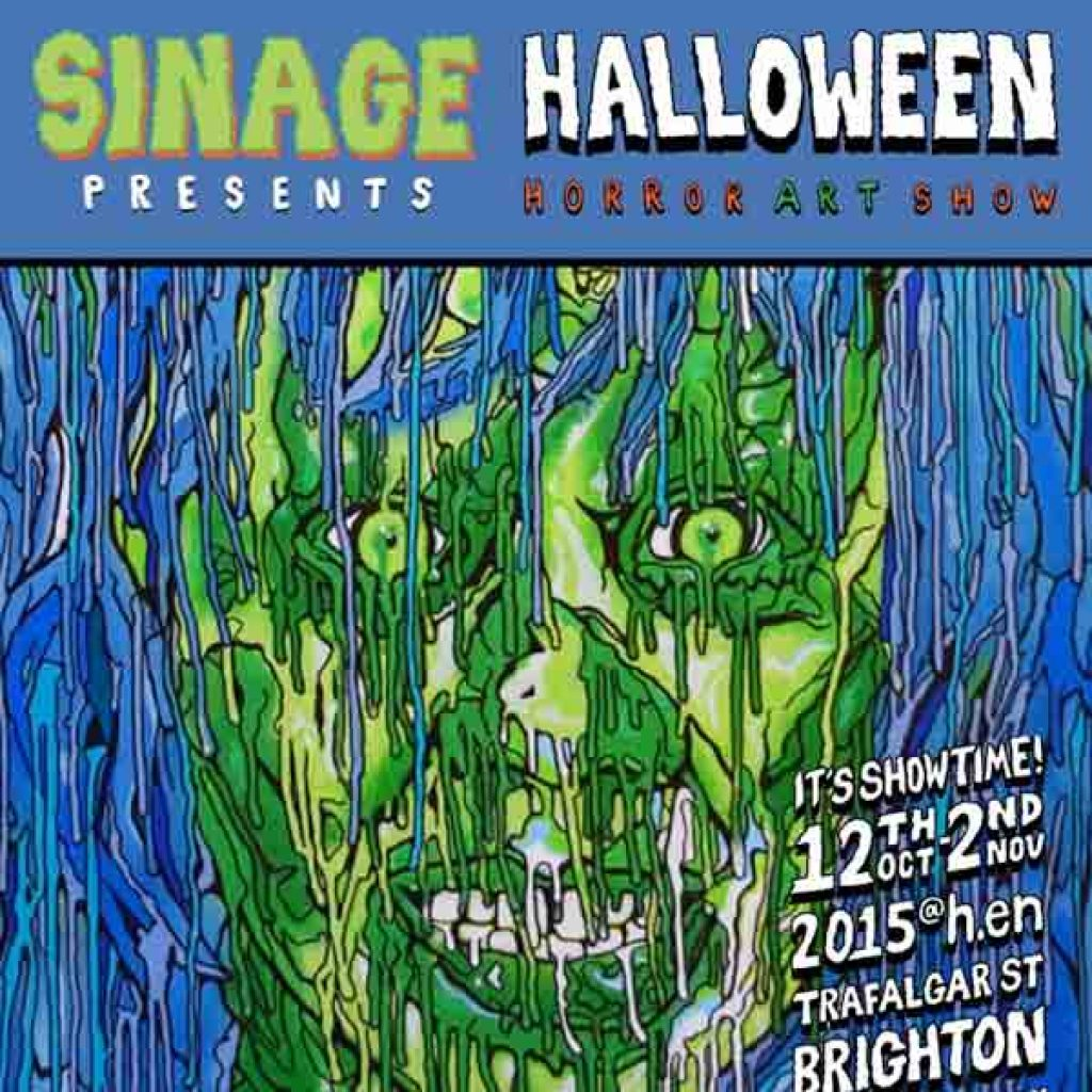 Halloween Horror Art Show Brighton